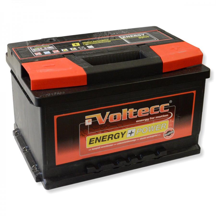 Voltecc Autobatterie Test
