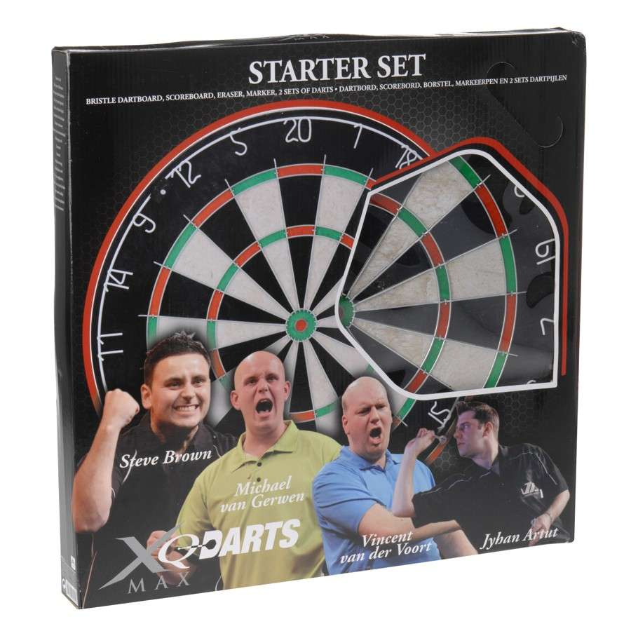 Steel dart starter set