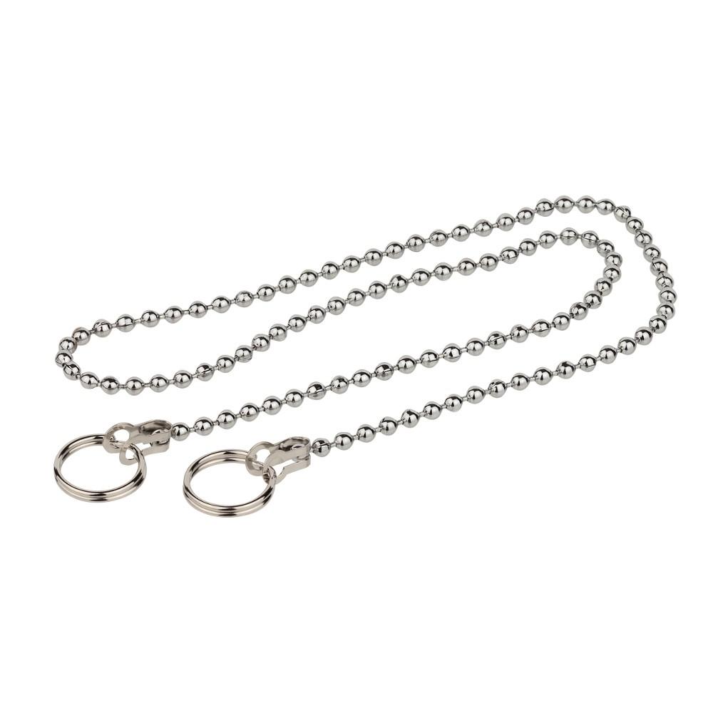 Kugel Ventilkette 2 Ringe Verchromt 30cm Sonderpreis