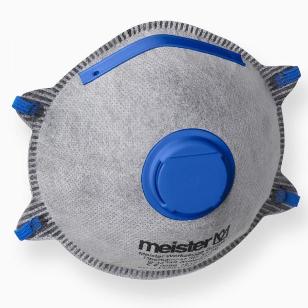 Feinstaubmaske FFP2 Aktivkohlefilter mit Ventil 1Stk. Atemschutzmaske