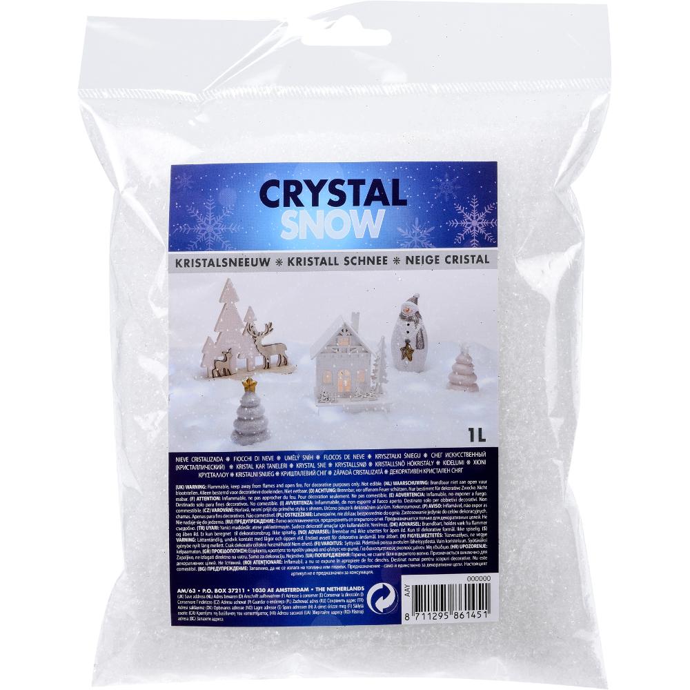 kristallschnee beutel 1 liter kunstschnee sonderpreis baumarkt. Black Bedroom Furniture Sets. Home Design Ideas