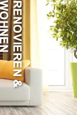 Renovieren und Wohnen