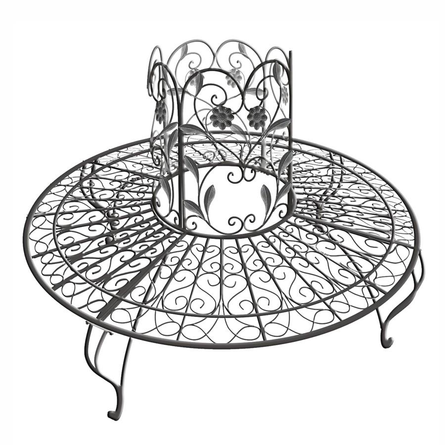 gartenbank metall rund 155301 eine interessante idee f r die gestaltung einer. Black Bedroom Furniture Sets. Home Design Ideas