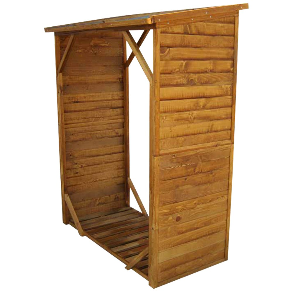 kaminholzregal 1280x950x1020cm holz natur sonderpreis. Black Bedroom Furniture Sets. Home Design Ideas