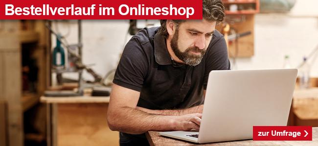 Bestellverlauf im Onlineshop