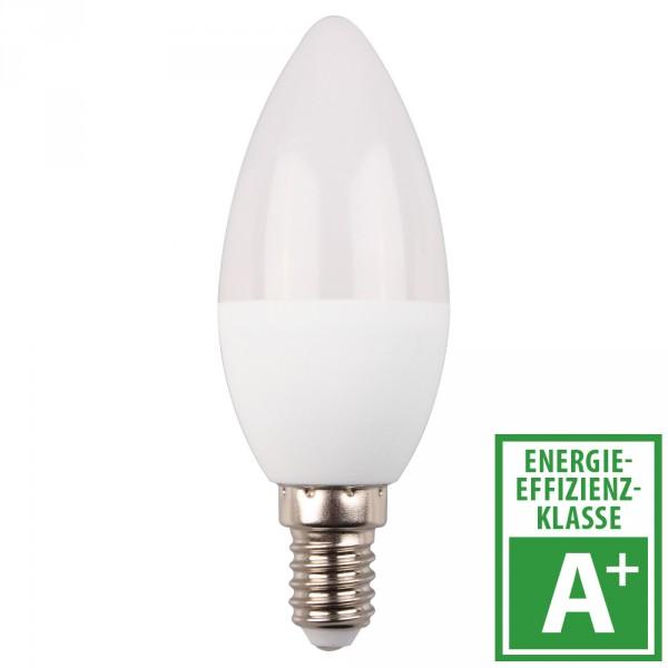 led lampe 5 5 watt in kerzenform mit e14 sockel integrierte dimmfunktion sonderpreis baumarkt. Black Bedroom Furniture Sets. Home Design Ideas
