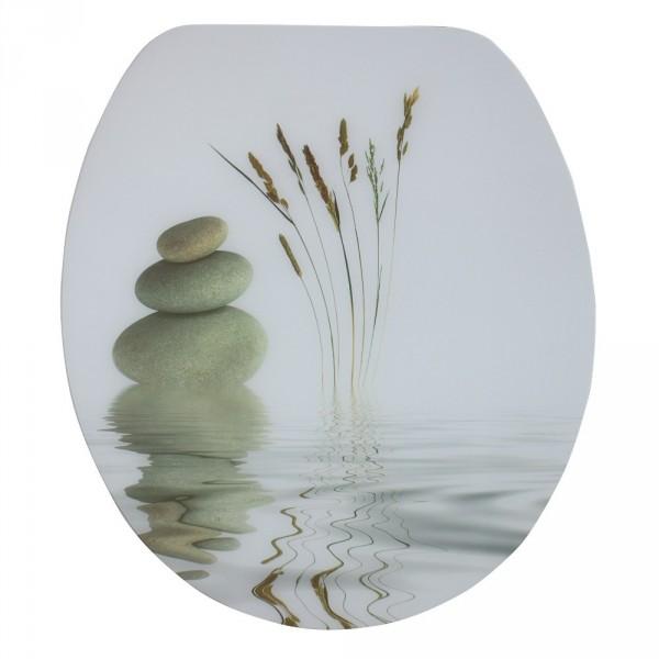 wc sitz acryl absenkautomatik dekor balance holzkern inkl. Black Bedroom Furniture Sets. Home Design Ideas