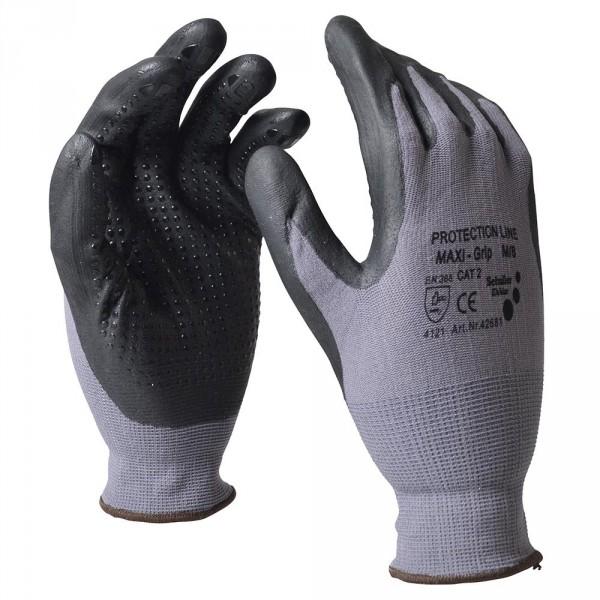 """Handschuhe Gr. XL 10"""" PU Nitril"""