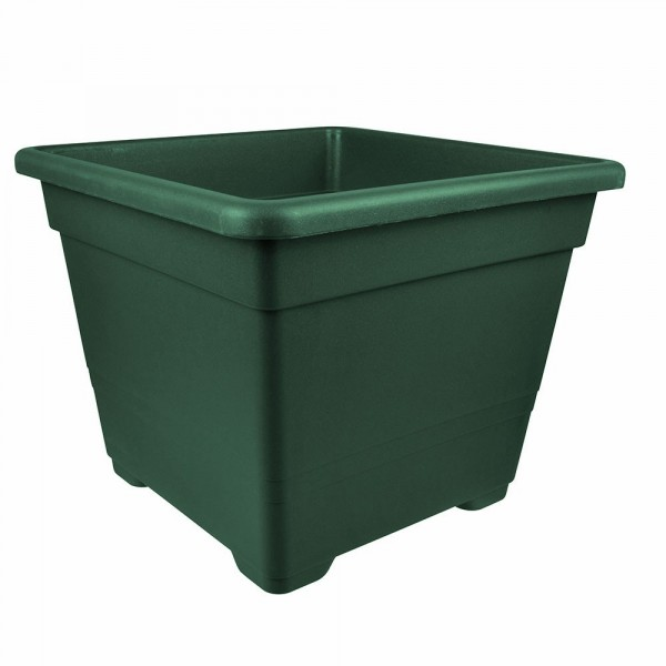 Blumentopf Quadrato 40x40cm Kunststoff grün