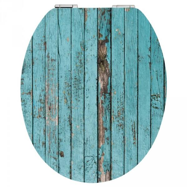 wc sitz acryl absenkautomatik dekor blue wood holzkern inkl befestigung sonderpreis baumarkt. Black Bedroom Furniture Sets. Home Design Ideas