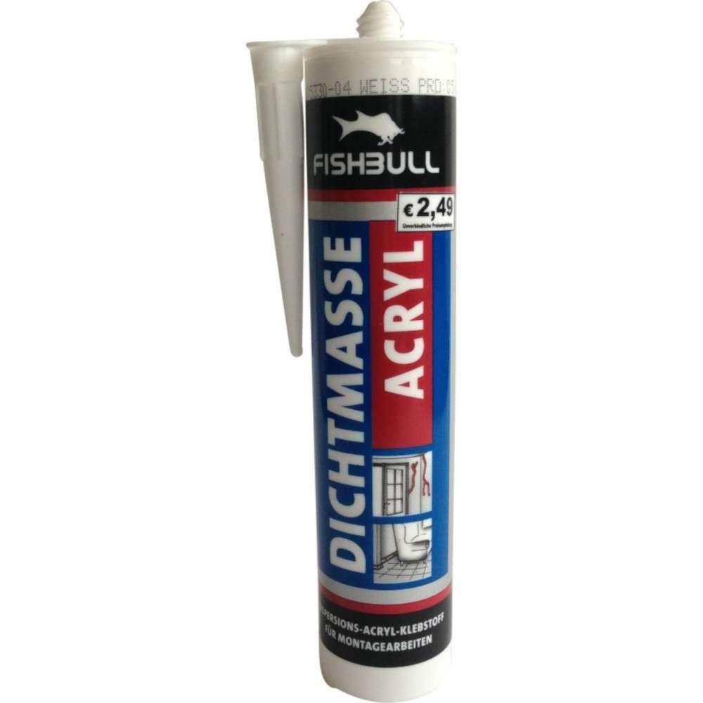fishbull acryl 300 ml weiß | sonderpreis baumarkt