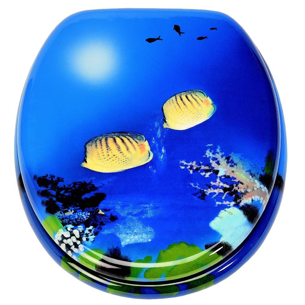 wc sitz mdf holzkern motiv ocean inkl befestigung sonderpreis baumarkt. Black Bedroom Furniture Sets. Home Design Ideas