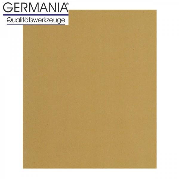 Schleifpapier K200 23x28cm gelb Holz Farbe Trockenschleifpapier Schleifpapierbogen