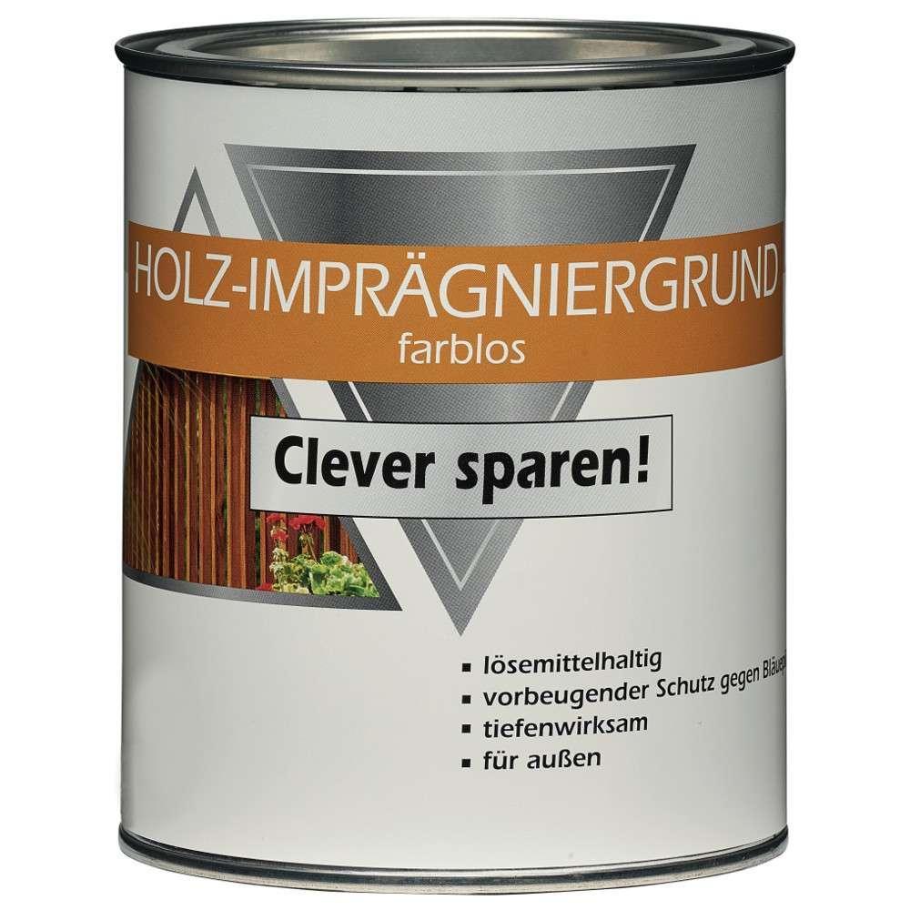 holz imprägniergrund 2,5 liter | sonderpreis baumarkt