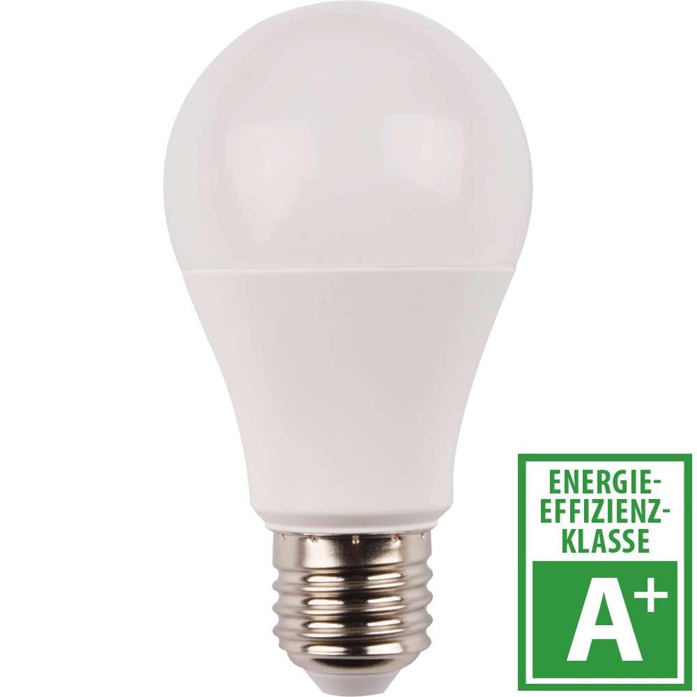 LED Lampe 10 Watt in Birnenform mit E27 Sockel integrierte ...