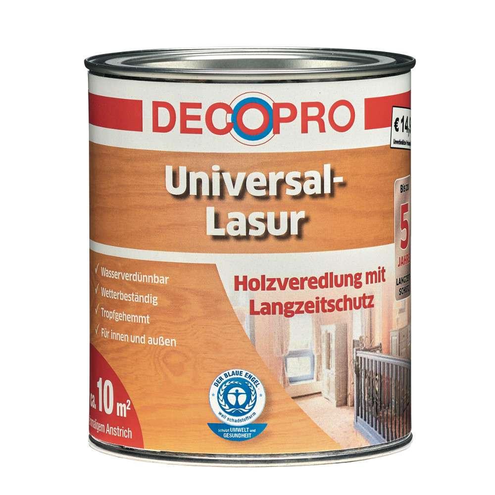 Decopro Universal Lasur 750 Ml Palisander Sonderpreis Baumarkt