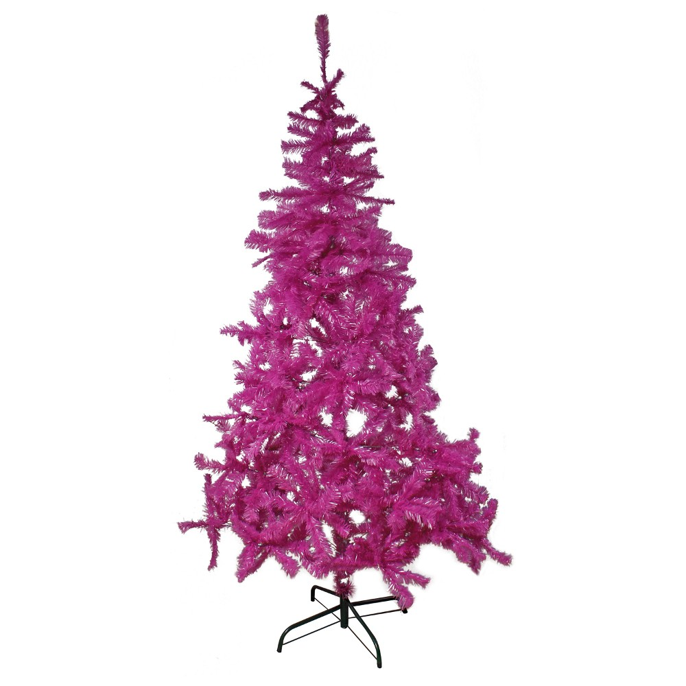 weihnachtsbaum k nstlich 200 500 zweige lila kunststoff. Black Bedroom Furniture Sets. Home Design Ideas