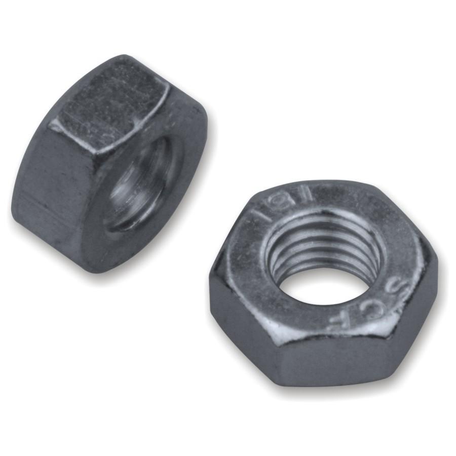 D/´s Items/® Standard DIN 934 - 5 St/ück Edelstahl A2 - - M16 Sechskantmuttern Sechskant-Muttern V2A