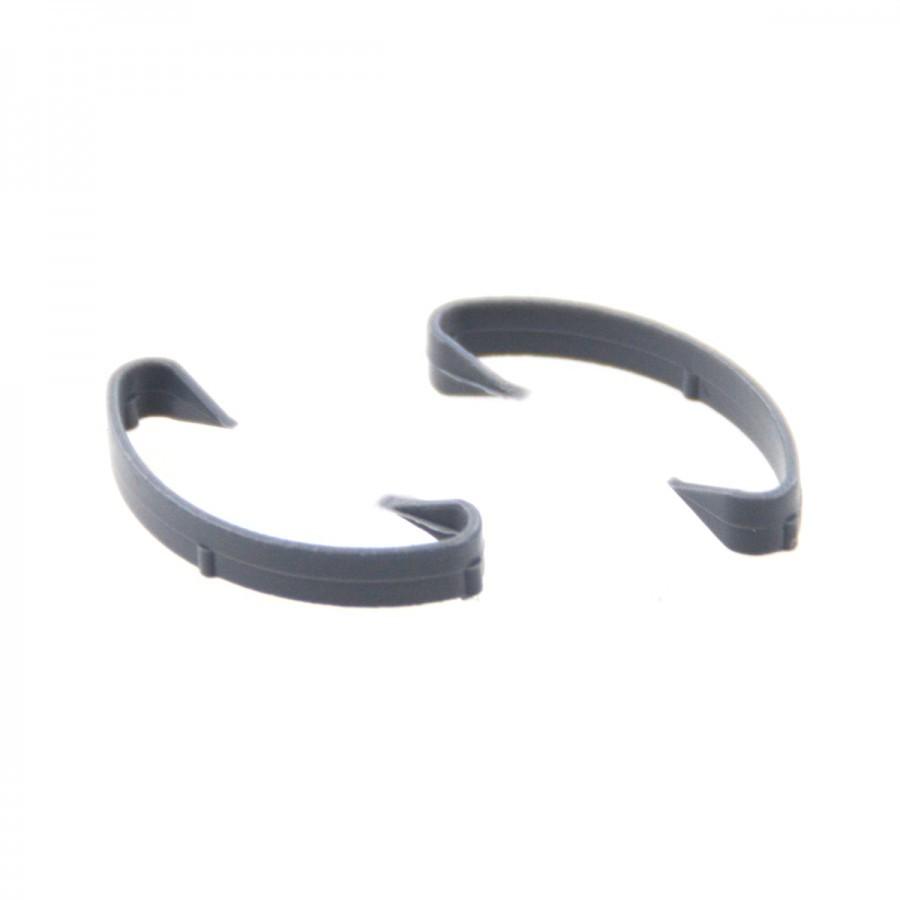 Komplett Neu Verschlussklammern Isolierrohre 50Stück Clips PE Isorohre Klammern  EA47