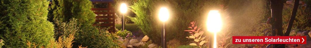 Welche Möglichkeiten der Gartenbeleuchtung gibt es!