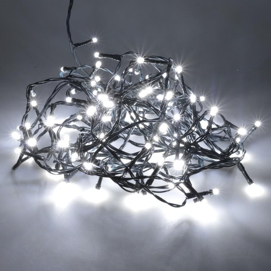 Led Lichterkette 9 36m 120 480led Kaltweiss Innen Aussen Weihnachten