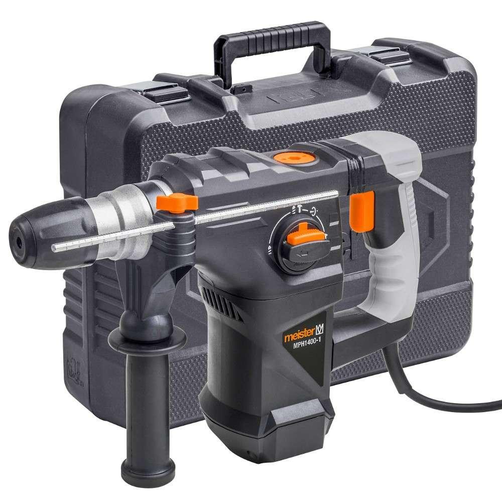 meister bohrhammer 230 v 1400 watt pneumatisch   sonderpreis baumarkt