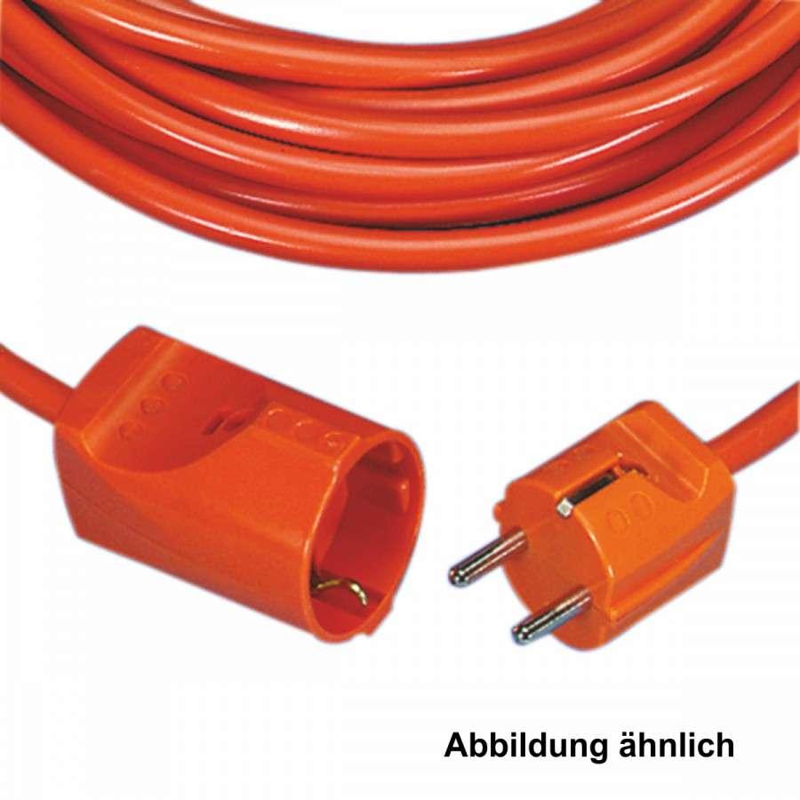 Verlängerungskabel 25m 3680W orange H05VV-F 3G1,5mm² Verlängerung ...