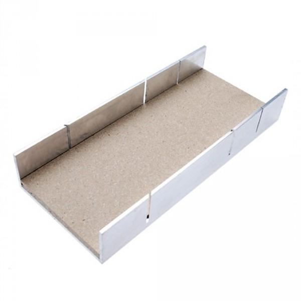 Aluminium-Gehrungslade 245x106x44 mm