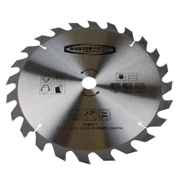 Kreissägeblatt 350x2,2mm 24Zähne Holz Spanplatte Sperrholz Hand Tisch Kreissäge