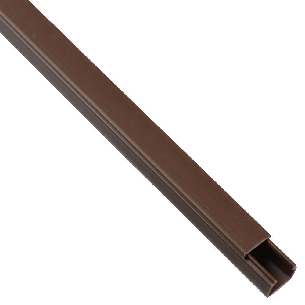 Kabelkanal 15x15mm 2m PVC braun | Sonderpreis Baumarkt