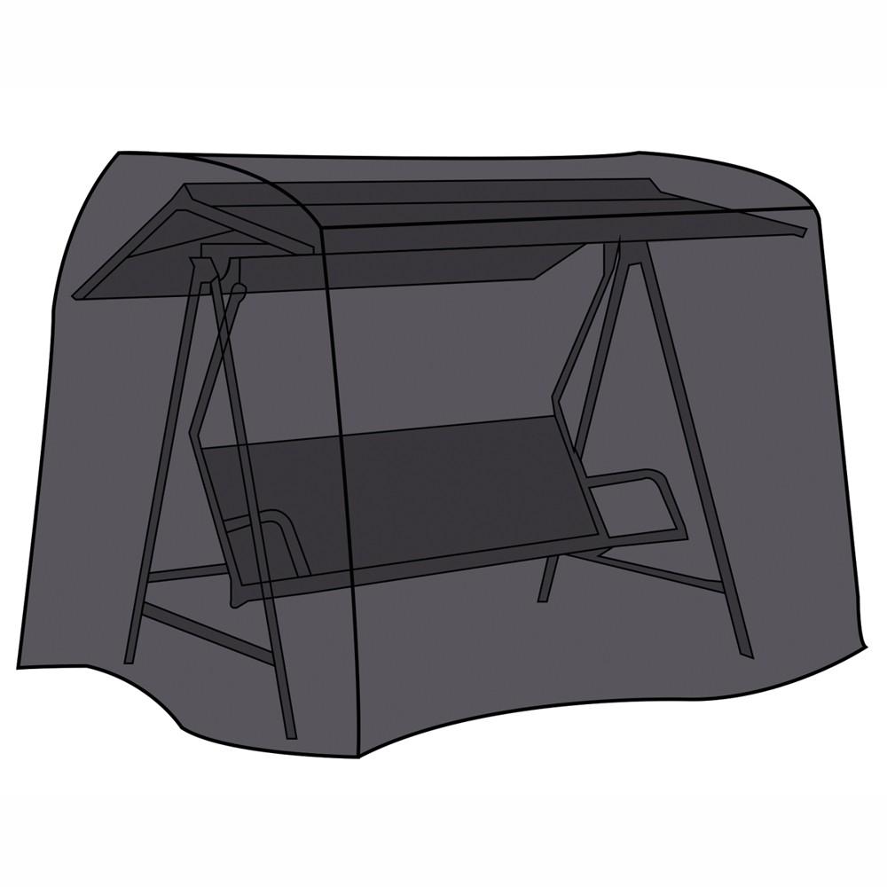 schutzh lle f r hollywoodschaukel schwarz sonderpreis baumarkt. Black Bedroom Furniture Sets. Home Design Ideas