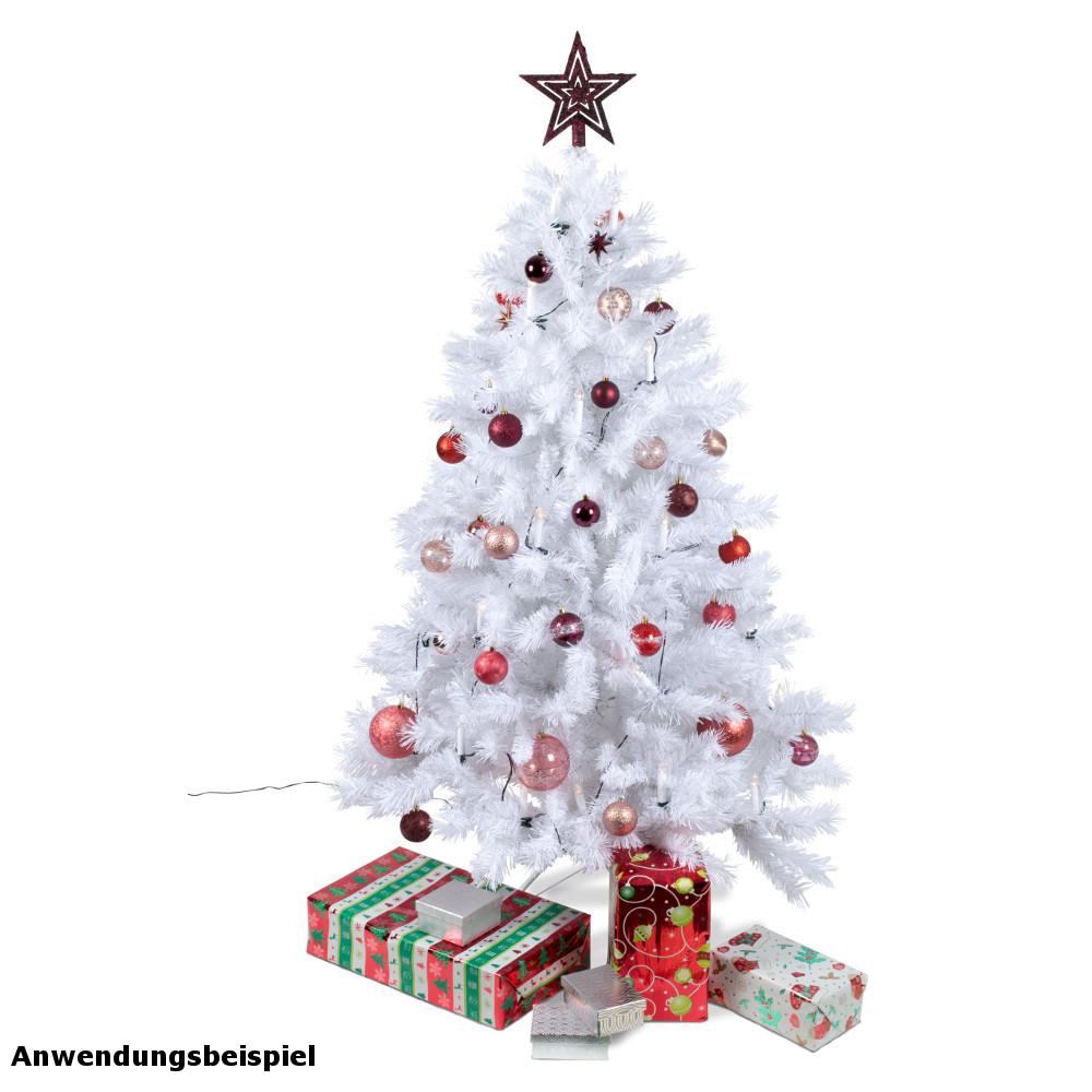 Weihnachtsbaum Plastik Weiß.Weihnachtsbaum 180 Cm Künstlich Weiß Kunststoff