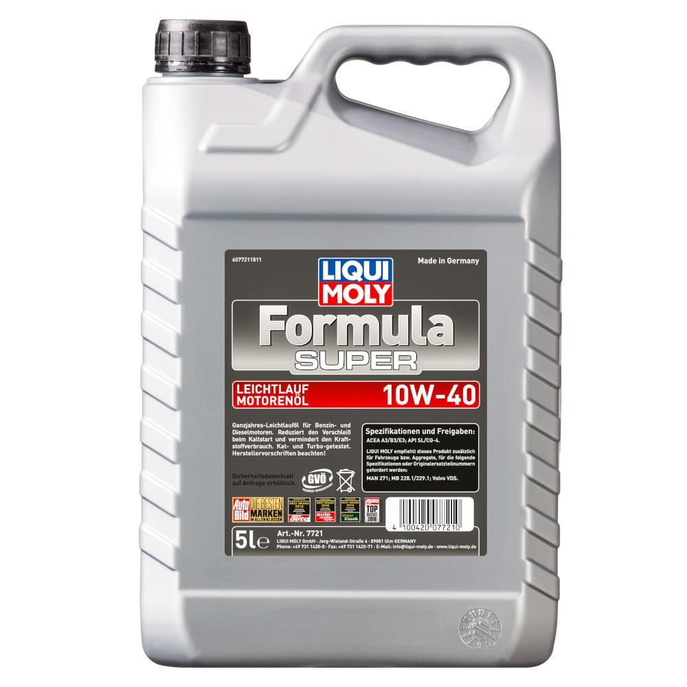 liqui moly leichtlauf l formula super 10w 40 5 liter. Black Bedroom Furniture Sets. Home Design Ideas