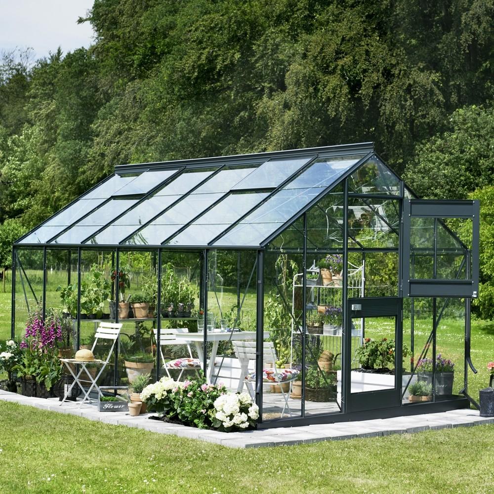 juliana gew chshaus junior 277x441cm 12 1m aluminium anthrazit glas sonderpreis baumarkt. Black Bedroom Furniture Sets. Home Design Ideas