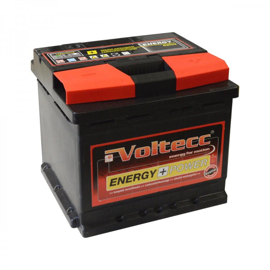 voltecc autobatterie energy plus 12 v 60 ah 540 a. Black Bedroom Furniture Sets. Home Design Ideas