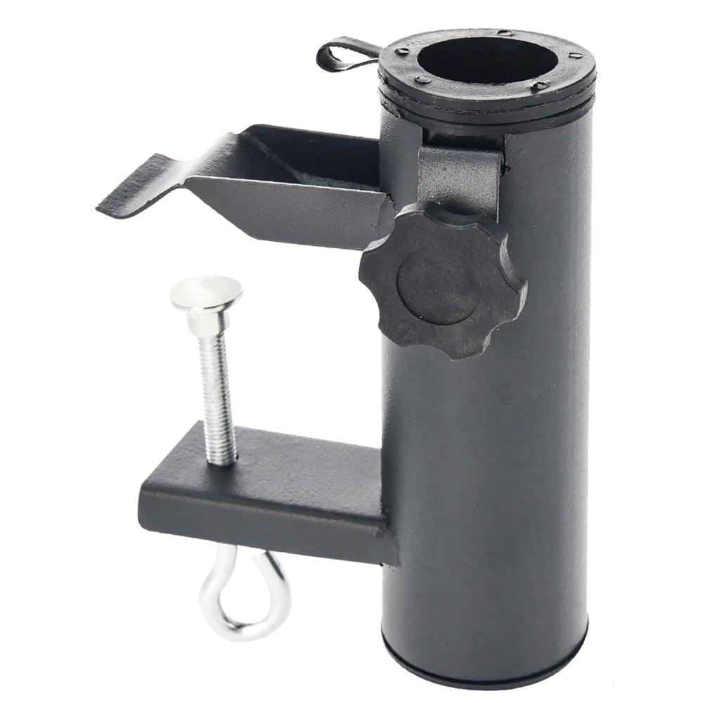 sonnenschirmhalterung 48 mm aus metall f r den balkon sonderpreis baumarkt. Black Bedroom Furniture Sets. Home Design Ideas