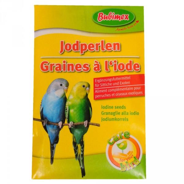 Jodperlen 20g Ergänzungsfuttermittel Sittiche und Exoten