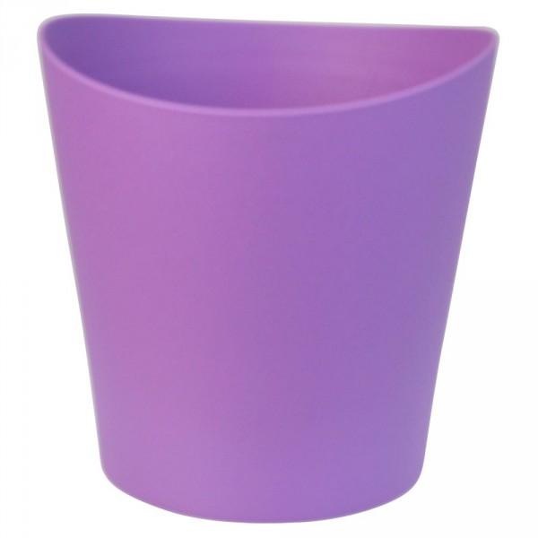 Orchideengefäß Uno 13cm blue violet
