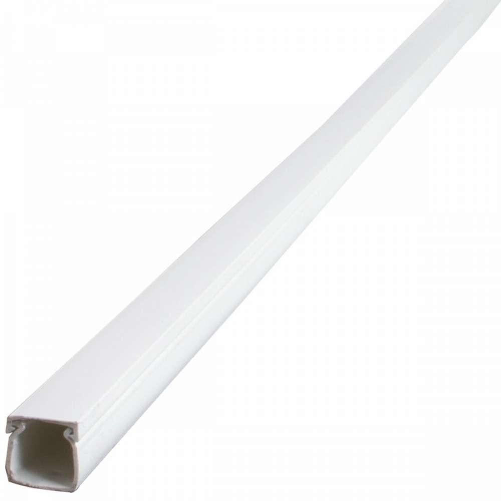 Kabelkanal 2 m 30x30 mm Kunststoff PVC weiß eckig   Sonderpreis Baumarkt