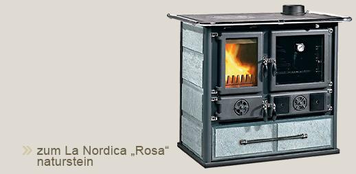 "La Nordica Küchenherd ""Rosa"" in naturstein"