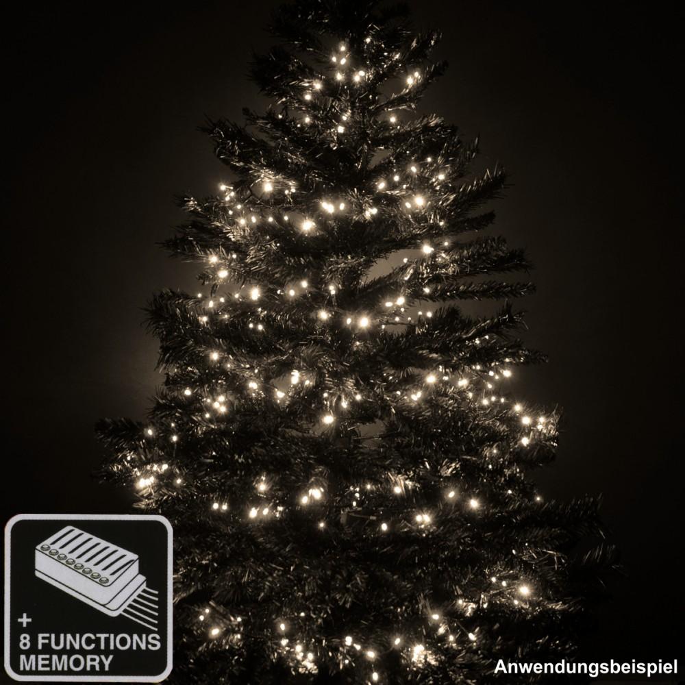 Led lichterkette weihnachtsbaum mit kabel