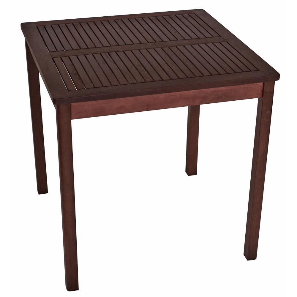 Gartentisch Aruba 70x70x70cm Eukalyptus Geolt Sonderpreis Baumarkt