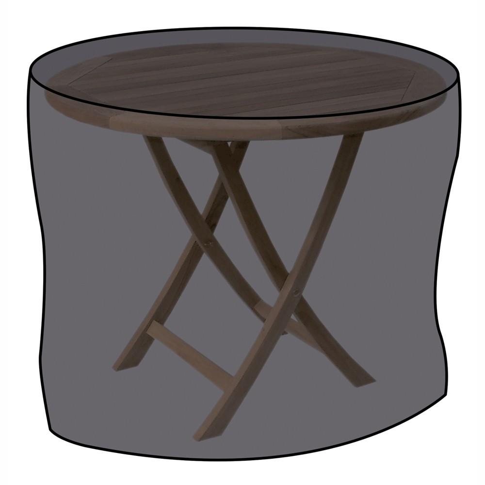 schutzh lle f r gartentisch 125x83cm polyethylen schwarz sonderpreis baumarkt. Black Bedroom Furniture Sets. Home Design Ideas