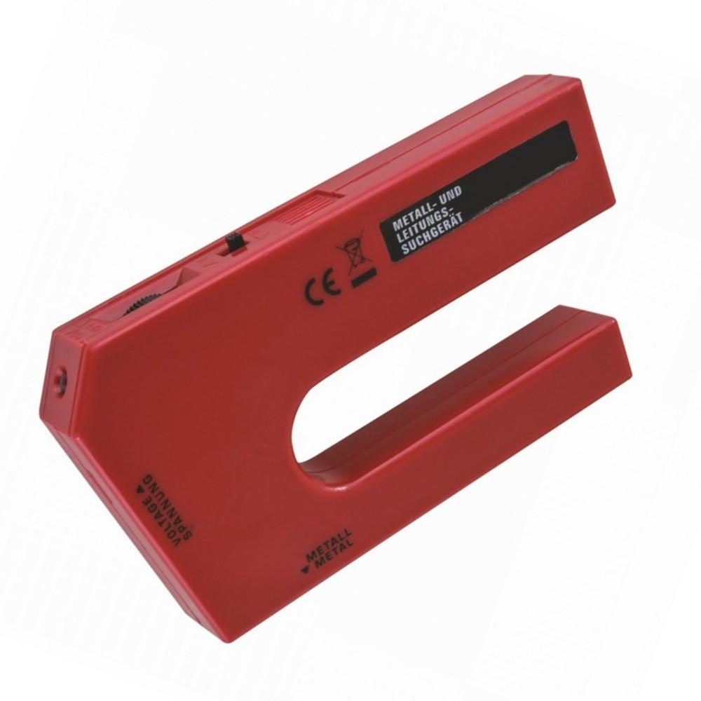 metall leitungssuchgerät 2in1 rot leitungsfinder kabeldetektor