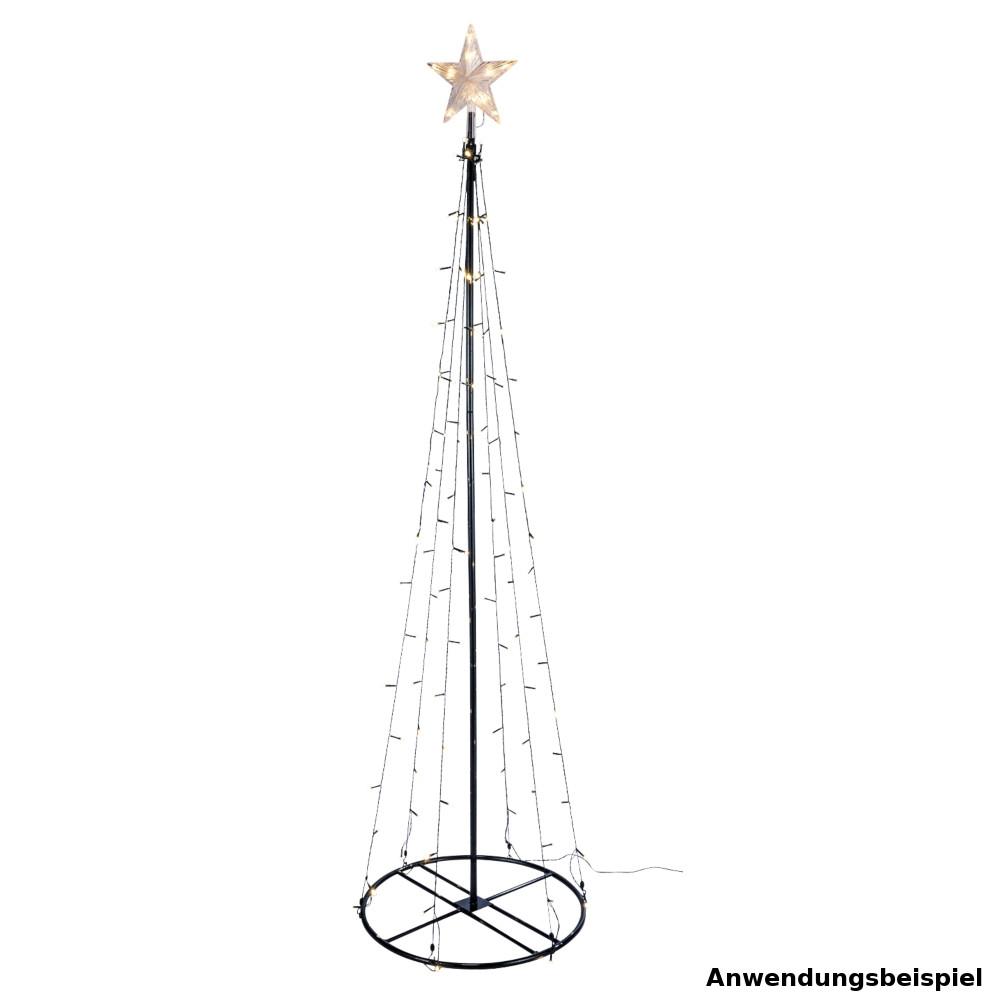 Weihnachtsbaum 120 oder 180 cm mit warmwei en led sonderpreis baumarkt - Weihnachtsbaum baumarkt ...