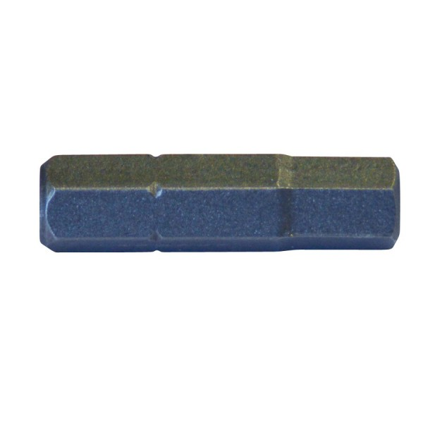 Bit Innensechskant 6mm S2 Stahl 6-kant IX Biteinsatz Innen-Sechskant