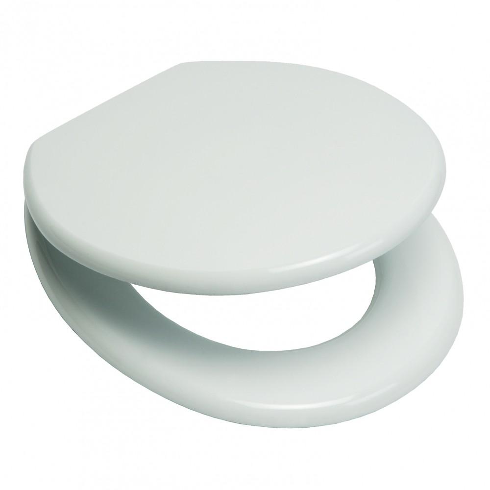 wc sitz eisl holzkern mdf wei inkl befestigung toilettendeckel sonderpreis baumarkt. Black Bedroom Furniture Sets. Home Design Ideas