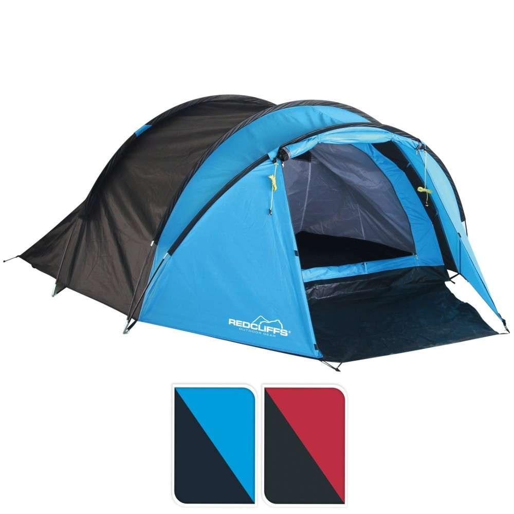 Zelt Pop-up 220x120x95 Rot Rot Camping & Outdoor Zelte