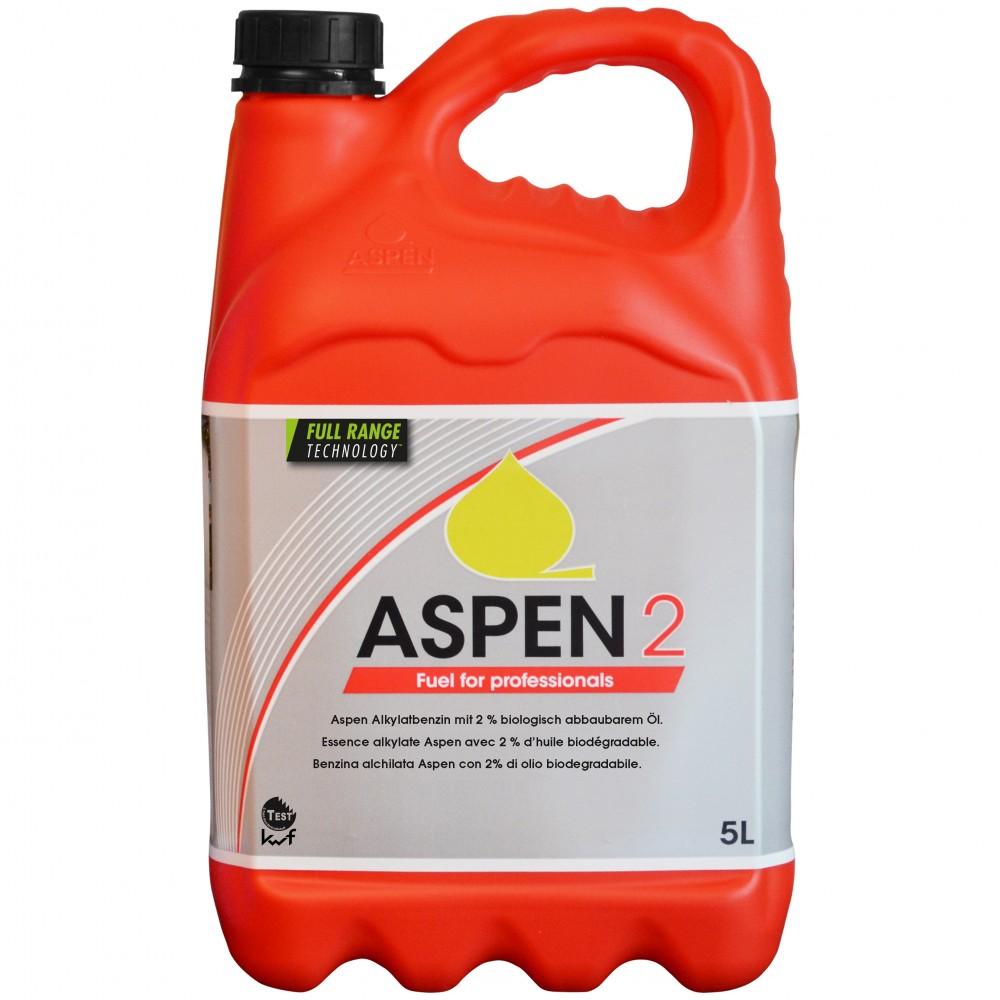 aspen 2takt benzin gemisch gebrauchsfertig 5liter