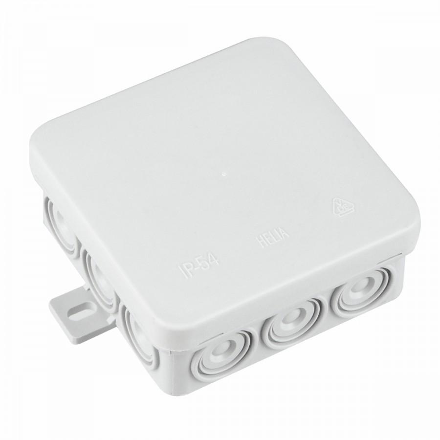 Abzweigdose 85x85x37 mm für Feuchträume IP54 Aufputz   Sonderpreis ...